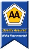 AA Quality Assured Highly Recommended