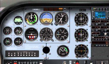 air plane dashboard